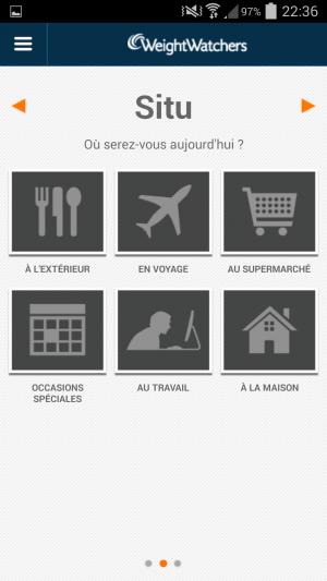 """Situ"" de l'application mobile"