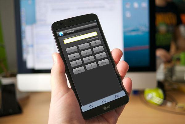 App Protector en photo