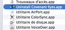 Uninstall Convenant Eyes