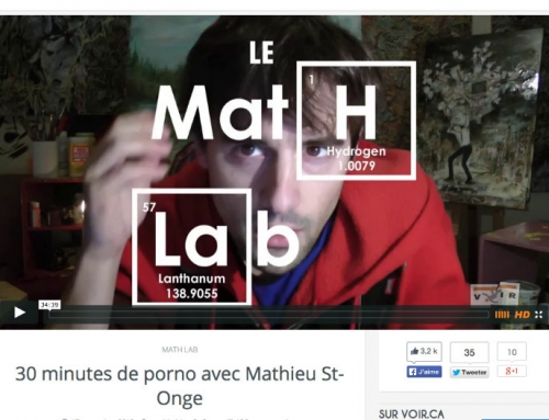 Mathieu Saint-Onge et la pornodépendance