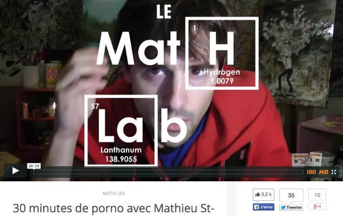 Pornodependance avec Mathieu St-Onge