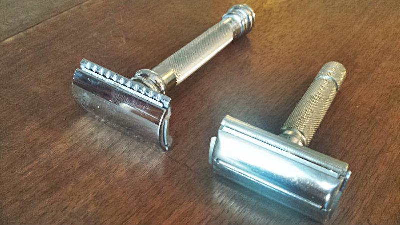 Merkur 2311 et Gillette Pat 694093