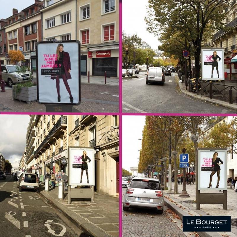 Campagne de pub le Bourget