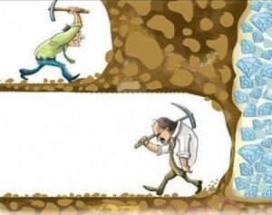 La réussite est à portée de main : patience.